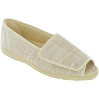 Zapatos Mujer Sandalias Mirak Quimper Beige