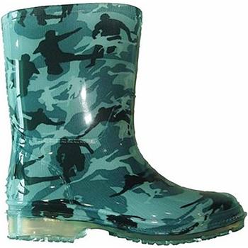 Zapatos Niño Botas de agua Cotswold PVC KIDS WELLINGTONS Verde militar