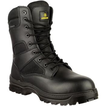 Zapatos Hombre Botas de caña baja Amblers COMBAT WP Negro