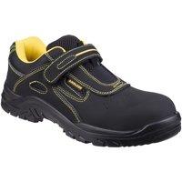 Zapatos Hombre zapatos de seguridad  Amblers 77 S1P Negro