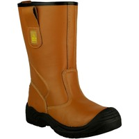 Zapatos Hombre zapatos de seguridad  Amblers 142 S3 Tostado