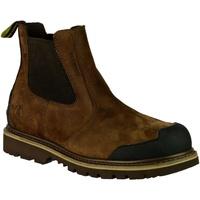 Zapatos Hombre Botas de caña baja Amblers 225 S3 WP Marrón