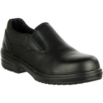 Zapatos Mujer Mocasín Amblers 94C S1P Negro