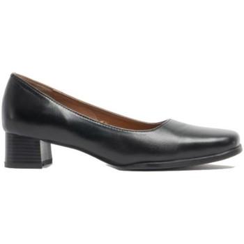 Zapatos Mujer Zapatos de tacón Amblers WALFORD SHOE X WIDE (BLACK/NAVY) Negro