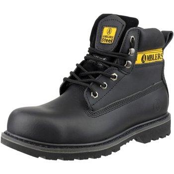 Zapatos Hombre Zapatos de trabajo Amblers FS9 Negro