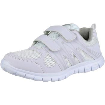 Zapatos Mujer Zapatillas bajas Mirak MILOS VELCRO ADULTS Blanco