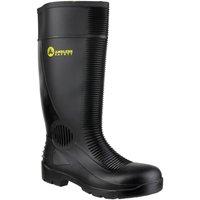 Zapatos Hombre zapatos de seguridad  Amblers FS100 Safety Black Wellingtons Negro