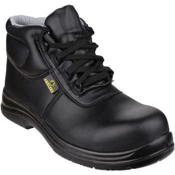 Zapatos Hombre zapatos de seguridad  Amblers FS663 Safety ESD Boots Negro