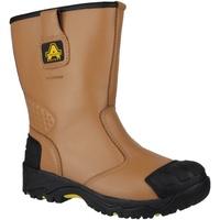 Zapatos Hombre zapatos de seguridad  Amblers FS143 Tostado
