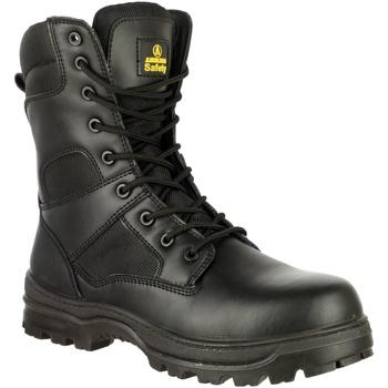 Zapatos Hombre zapatos de seguridad  Amblers FS008 Safety Boots (Euro Sizing) Negro