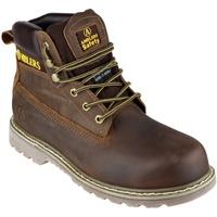 Zapatos Hombre zapatos de seguridad  Amblers FS164 Safety Boots Marrón