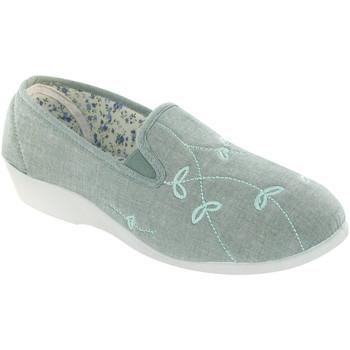 Zapatos Mujer Pantuflas Mirak BESSIE CANVAS Verde