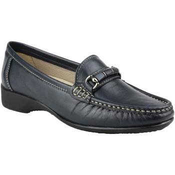 Zapatos Mujer Mocasín Cotswold Barrington Azul marino