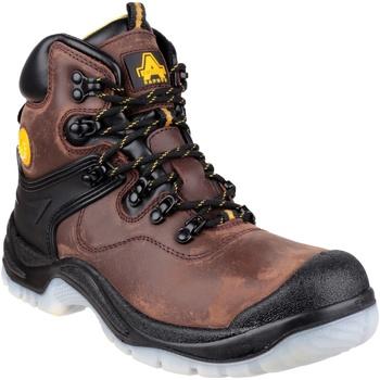 Zapatos Hombre zapatos de seguridad  Amblers FS197 BROWN WATERPROOF S3 BOOT Marrón