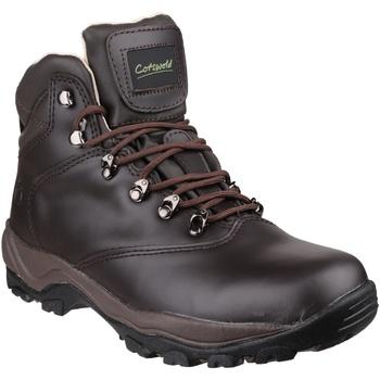Zapatos Mujer Senderismo Cotswold  Marrón