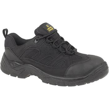 Zapatos Hombre zapatos de seguridad  Amblers FS214 BLACK TRAINER SHOE Negro
