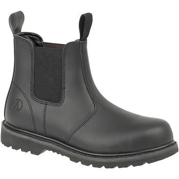 Zapatos zapatos de seguridad  Amblers FS5 Negro