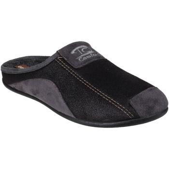 Zapatos Hombre Pantuflas Cotswold  Negro