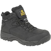 Zapatos Hombre zapatos de seguridad  Amblers FS190 SAFETY Negro