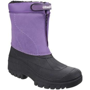 Zapatos Mujer Botas de nieve Cotswold Venture Púrpura
