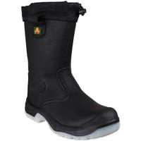 Zapatos Mujer zapatos de seguridad  Amblers FS209 SAFETY Negro