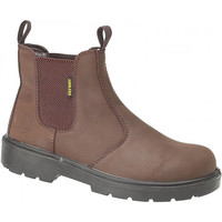 Zapatos Mujer Botines Amblers FS128 Safety Marrón