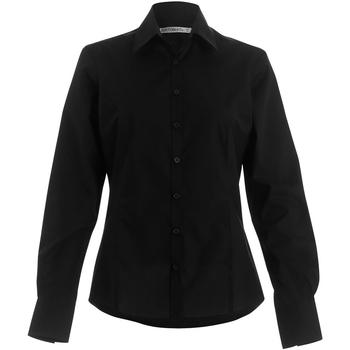 textil Mujer Camisas Kustom Kit Business Negro
