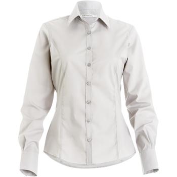 textil Mujer Camisas Kustom Kit Business Blanco