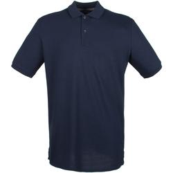 textil Hombre Polos manga corta Henbury HB101 Azul marino