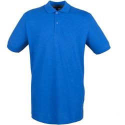 textil Hombre Polos manga corta Henbury HB101 Azul