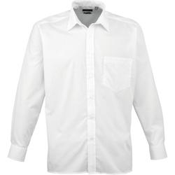 textil Hombre Camisas manga larga Premier PR200 Blanco