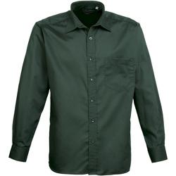 textil Hombre Camisas manga larga Premier PR200 Botella