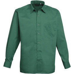 textil Hombre Camisas manga larga Premier PR200 Esmeralda