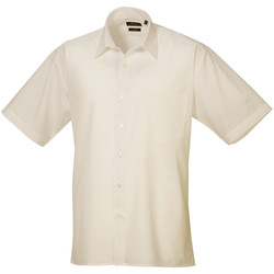 textil Hombre Camisas manga corta Premier PR202 Carne
