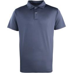 textil Polos manga corta Premier PR612 Azul marino