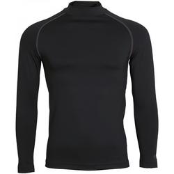 textil Hombre Camisetas manga larga Rhino RH001 Negro
