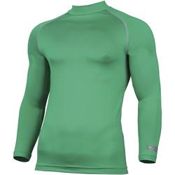 textil Hombre Camisetas manga larga Rhino RH001 Verde