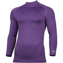 textil Hombre Camisetas manga larga Rhino RH001 Púrpura