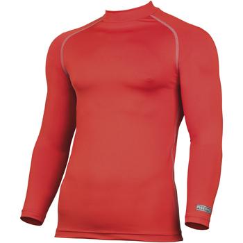 textil Hombre Camisetas manga larga Rhino RH001 Rojo