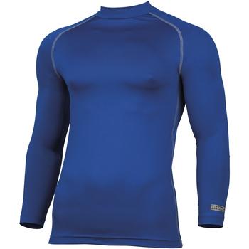 textil Hombre Camisetas manga larga Rhino RH001 Azul
