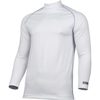 textil Hombre Camisetas manga larga Rhino RH001 Blanco