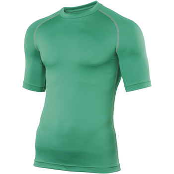 textil Hombre Camisetas manga corta Rhino RH002 Verde