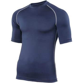 textil Hombre Camisetas manga corta Rhino RH002 Azul marino