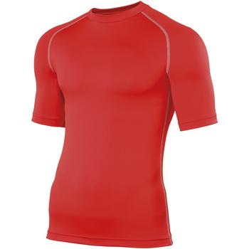 textil Hombre Camisetas manga corta Rhino RH002 Rojo