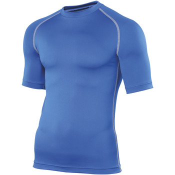 textil Hombre Camisetas manga corta Rhino RH002 Azul