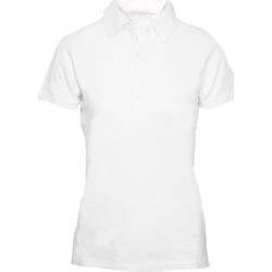 textil Mujer Polos manga corta Skinni Fit SK042 Blanco