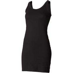 textil Mujer Vestidos cortos Skinni Fit SK104 Negro