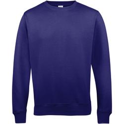 textil Hombre Sudaderas Awdis JH030 Púrpura