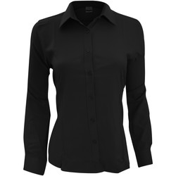 textil Mujer Camisas Henbury Wicking Negro