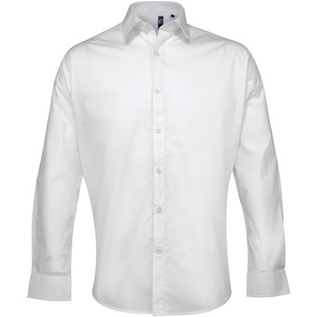 textil Hombre Camisas manga larga Premier PR207 Blanco